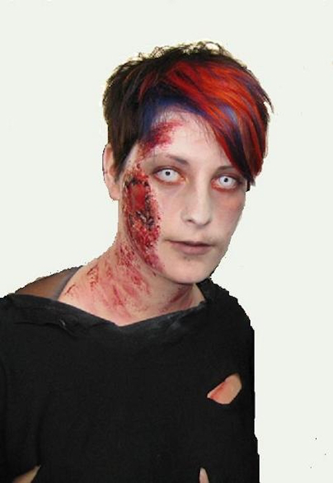 Vorher Nachher – Halloween zombie special